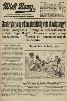 Wiek Nowy : popularny dziennik ilustrowany. 1925, nr7134