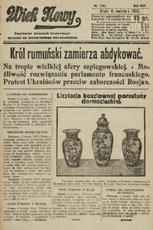 Wiek Nowy : popularny dziennik ilustrowany. 1925, nr7137