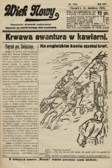 Wiek Nowy : popularny dziennik ilustrowany. 1925, nr7143