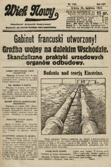 Wiek Nowy : popularny dziennik ilustrowany. 1925, nr7145