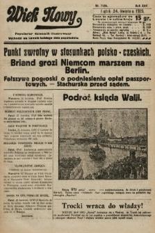 Wiek Nowy : popularny dziennik ilustrowany. 1925, nr7150
