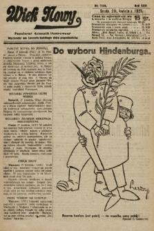 Wiek Nowy : popularny dziennik ilustrowany. 1925, nr7154