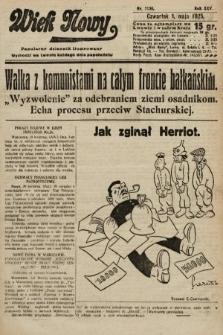 Wiek Nowy : popularny dziennik ilustrowany. 1925, nr7156