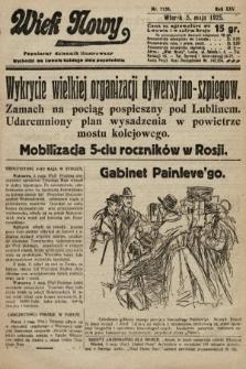 Wiek Nowy : popularny dziennik ilustrowany. 1925, nr7158