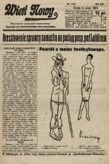 Wiek Nowy : popularny dziennik ilustrowany. 1925, nr7159