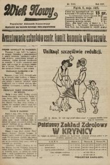 Wiek Nowy : popularny dziennik ilustrowany. 1925, nr7161