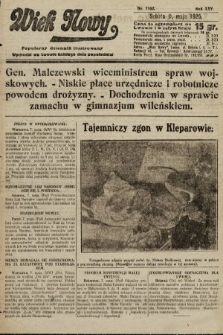 Wiek Nowy : popularny dziennik ilustrowany. 1925, nr7162