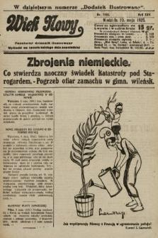 Wiek Nowy : popularny dziennik ilustrowany. 1925, nr7163