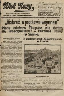 Wiek Nowy : popularny dziennik ilustrowany. 1925, nr7166