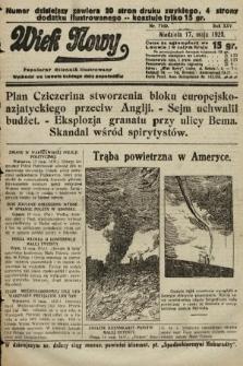 Wiek Nowy : popularny dziennik ilustrowany. 1925, nr7169