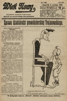 Wiek Nowy : popularny dziennik ilustrowany. 1925, nr7182