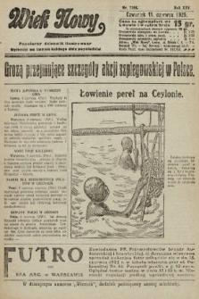 Wiek Nowy : popularny dziennik ilustrowany. 1925, nr7188