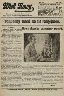 Wiek Nowy : popularny dziennik ilustrowany. 1925, nr7193