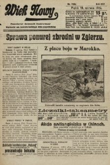 Wiek Nowy : popularny dziennik ilustrowany. 1925, nr7194