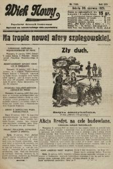Wiek Nowy : popularny dziennik ilustrowany. 1925, nr7195