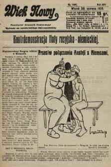 Wiek Nowy : popularny dziennik ilustrowany. 1925, nr7197