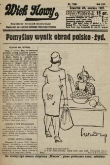 Wiek Nowy : popularny dziennik ilustrowany. 1925, nr7199
