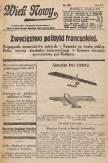 Wiek Nowy : popularny dziennik ilustrowany. 1922, nr6368