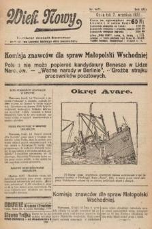Wiek Nowy : popularny dziennik ilustrowany. 1922, nr6371