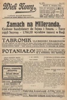 Wiek Nowy : popularny dziennik ilustrowany. 1922, nr6374