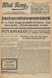 Wiek Nowy : popularny dziennik ilustrowany. 1922, nr6376