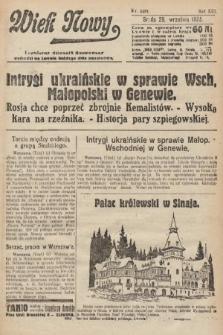 Wiek Nowy : popularny dziennik ilustrowany. 1922, nr6381