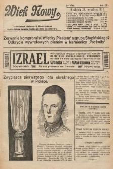 Wiek Nowy : popularny dziennik ilustrowany. 1922, nr6385