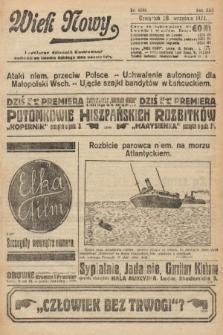 Wiek Nowy : popularny dziennik ilustrowany. 1922, nr6388