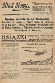 Wiek Nowy : popularny dziennik ilustrowany. 1922, nr6390