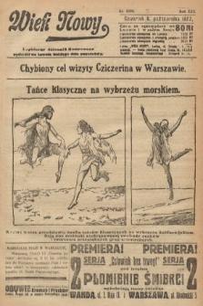 Wiek Nowy : popularny dziennik ilustrowany. 1922, nr6393
