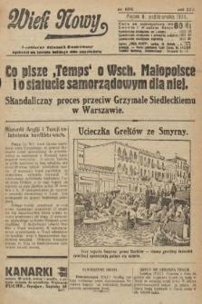 Wiek Nowy : popularny dziennik ilustrowany. 1922, nr6394