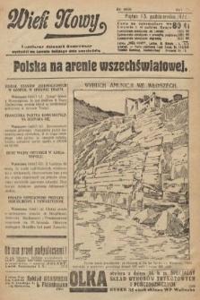Wiek Nowy : popularny dziennik ilustrowany. 1922, nr6400