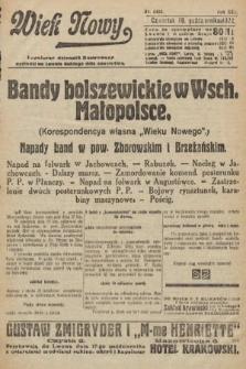Wiek Nowy : popularny dziennik ilustrowany. 1922, nr6405
