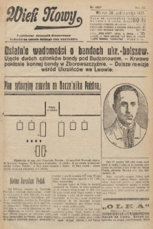 Wiek Nowy : popularny dziennik ilustrowany. 1922, nr6409