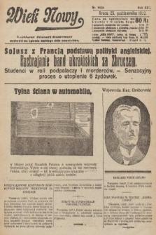 Wiek Nowy : popularny dziennik ilustrowany. 1922, nr6410