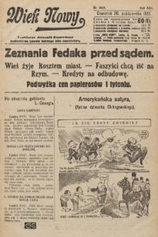 Wiek Nowy : popularny dziennik ilustrowany. 1922, nr6411