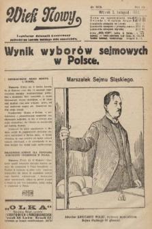 Wiek Nowy : popularny dziennik ilustrowany. 1922, nr6416