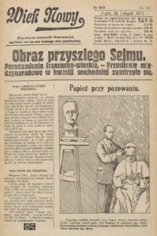 Wiek Nowy : popularny dziennik ilustrowany. 1922, nr6419