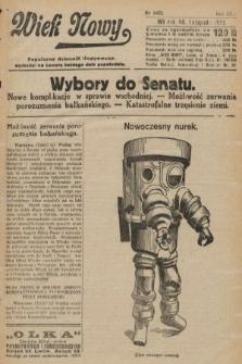 Wiek Nowy : popularny dziennik ilustrowany. 1922, nr6422