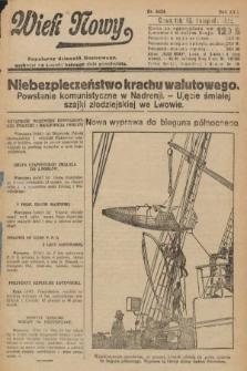 Wiek Nowy : popularny dziennik ilustrowany. 1922, nr6424