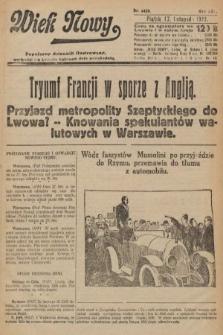 Wiek Nowy : popularny dziennik ilustrowany. 1922, nr6425