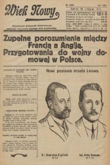 Wiek Nowy : popularny dziennik ilustrowany. 1922, nr6426
