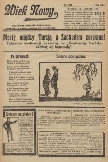 Wiek Nowy : popularny dziennik ilustrowany. 1922, nr6433