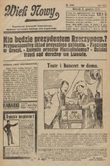 Wiek Nowy : popularny dziennik ilustrowany. 1922, nr6440