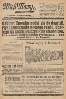 Wiek Nowy : popularny dziennik ilustrowany. 1922, nr6447