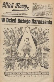 Wiek Nowy : popularny dziennik ilustrowany. 1922, nr6456