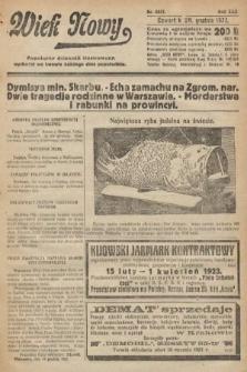 Wiek Nowy : popularny dziennik ilustrowany. 1922, nr6457