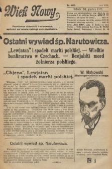 Wiek Nowy : popularny dziennik ilustrowany. 1922, nr6459