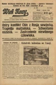 Wiek Nowy : popularny dziennik ilustrowany. 1929, nr8258
