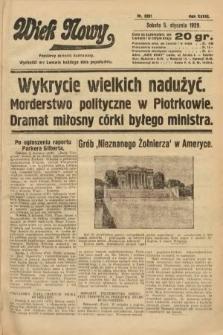 Wiek Nowy : popularny dziennik ilustrowany. 1929, nr8261